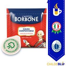 150 cialde Borbone compostabili ESE 44 MM miscela Rossa