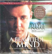 A Beautiful Mind 5 Audio CD Read My Edward Herrmann New Sealed