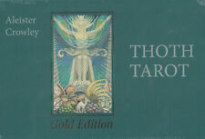 ALEISTER CROWLEY THOTH TAROT - GOLD EDITION DELUXE - NEU