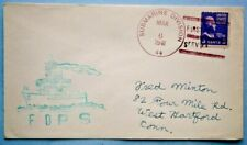 1941 Submarine Cachet Mail with Submarine Division 44 Cancellation