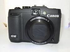 Canon PowerShot G16 Digital Camera +32GB