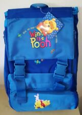 Zaino scuola Winnie the Pooh nuovo originale disney blu school backpack blue bag