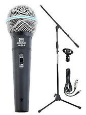 Pink Singing Superstar Microphone With Stand