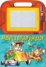 Aprende a dibujar vehiculos: Drawing on the Go, Spanish-Language Edition (Aprend