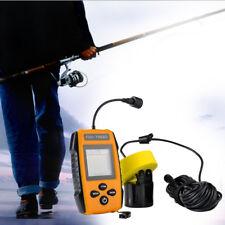 Portable 100m Depth Alarm Plastic Sonar Fish Finder Wireless for Kayak