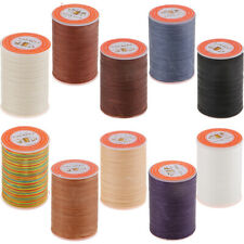 328 Yards 0.35mm Sewing Waxed Thread Hand Stitching Cords for Leather Craft DIY