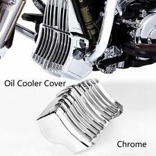 Chrome Precision Oil Cooler Cover For Harley Touring Street Glide FLHX 17-18