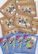 8x EDEKA ungeöffnete Tüten mit jeweils 4 Tiere Sticker + Sammler Edition 2012 +