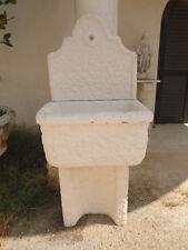 FONTANA A MURO - PARETE DA GIARDINO IN CEMENTO MARMO PIETRA  alt. 126 cm