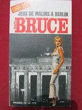 OSS 117 - JEUX DE MALINS A BERLIN  - Josette BRUCE - n° 206 - 1969