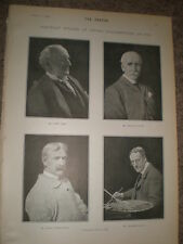 Printed photos royal Academy Sant Riviere Thornycroft Lucas 1903 ref Z