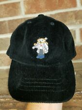 Polo Ralph Lauren Boy's Polo Bear Hat Sz 4-7 Black SKi Cap Corduroy NWT