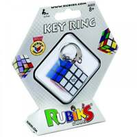 RUBIK'S CUBE KEY RING 3 X 3 SIX SIDED PUZZLE TWIST TEASER MAGIC TOY NOVELTY GAME