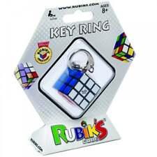 RUBIK'S CUBE KEY RING 3 X 3 SIX SIDED PUZZLE TWIST TEASER MAGIC TOY NOVELTY GAME