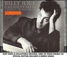 Billy Joel The Very Best 25 Greatest Hits Collection RARE 2CD 70's 80's Rock Pop