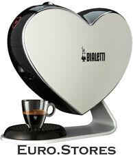BIALETTI Cuore Espresso Capsule Coffee Machine White Design Genuine New