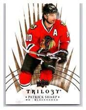 (HCW) 2014-15 Upper Deck Trilogy #83 Patrick Sharp Blackhawks NHL Mint
