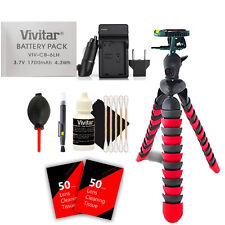 Vivitar NB-6L / NB-6LH Battery Charger Kit for Select Canon PowerShot Cameras