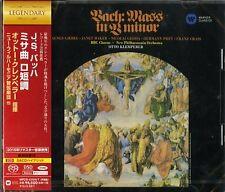OTTO KLEMPERER-J.S. BACH: MASS IN B MINOR-JAPAN 2 SACD HYBRID K81