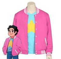Anime Steven Universe Jacket Hooded Coat Unisex Cosplay Causal T-shirt Tee Tops