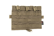 Crye Precision by ZShot AVS/JPC MOLLE Front Flap TRIPLE M4 POUNCH TASCA COYOTE