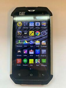 CAT Caterpillar B15Q - 4GB - Black (Unlocked) Smartphone Android Mobile B15