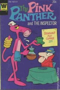 Pink Panther #18 GD/VG 3.0 1974 Whitman Stock Image Low Grade