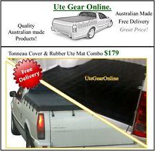 Ford Falcon Ute XD XE XF XG XH Ute Tonneau Cover & Rubber Ute Mat Combo