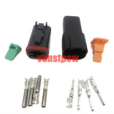 1set 4Pin Waterproof Electrical Wire Connector Plug 22-16AWG DT04-4p and DT06-4S