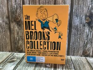 THE MEL BROOKS COLLECTIONS - COMPLETE DVD SET of MOVIES