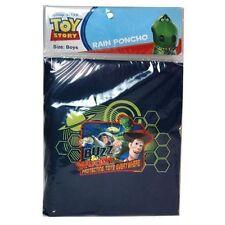 Rain Poncho Toy Story Buzz Woody Boy Size 4-7 NIP