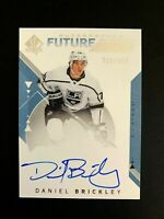 2018-19 SP Authentic #204 Daniel Brickley FW AU/949* RC