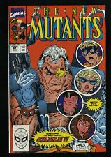 New Mutants #87 VF/NM 9.0 White Pages 1st Cable!