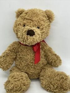 Jellycat London Brown Bartholomew Teddy Bear Soft Fluffy Plush Toy