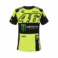 T-shirt MotoGP Valentino Rossi Replica Monza Monster Energy Originale Vr46