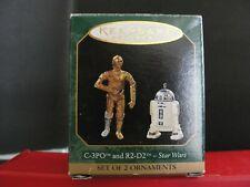 HALLMARK C3PO and R2-D2 Star Wars - Minatures 1997(H8)