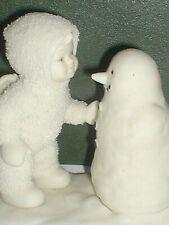 SNOWBABIES, SNOWBABY AND SNOWMAN, Beautiful, 2001. Very Rare, CHRISTMAS,WINTER.