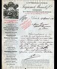 "PARIS (XV°) USINE de MONTE-CHARGE , PERSIENNES ""JAQUEMET & MESNET"" en 1914"