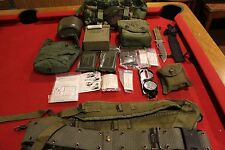 SURVIVAL MILITARY GEAR KIT COMPASS KNIFE BELT POUCH FIRST AID FANNY PACK FIELD