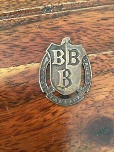 Bridlington Grammer school Sports Medal Badge BBB