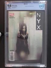 NYX #3 -MINT- CBCS 9.8 NM/MT - Marvel 2004 - 1st App of X-23 (Laura Kinney)!!!
