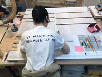 Tom Sachs Ten Bullets 'It Won't Fail Because Of Me' T-Shirt Size X-Large