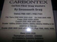 1 satz carbontex drag daiwa unterlegscheiben # f69-1001 or f62-7101 tierra, exceller, steez