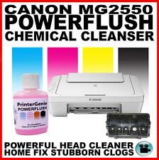 Canon PIXMA MG2550 Impresora: Kit de limpieza de cabezales: Boquilla al ras del cabezal de impresión desatascador