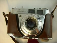 KODAK RETINETTE 1A Schneider F2.8 45mm Lens Leather Case and Strap