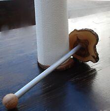 Küchenrollenhalter Olivenholz Küchenrollen Halter mit Alustange