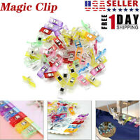 USA Magic Sewing Fabric Clips Clamp Craft Quilting Sewing Knitting Crochet Tools