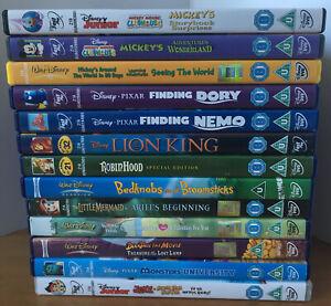 Disney DVD Bundle/Joblot X13 DVD's Inc Robin Good, Lion King, Mickeys Clubhouse