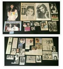 Brooke Shields COLLECTION OF MAGAZINE CLIPPINGS 70's 80's