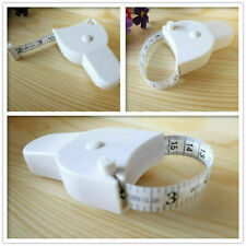 Body Tape Measure White Waist Weight Loss Aid Fat Retractable Healt Fitness Z6I0